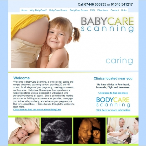Babycare Scanning - CMS