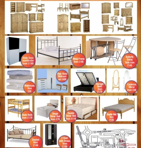 Discount furniture clearance ltd furnishers contract and for Cheap local furniture