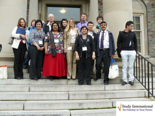 Advisers Visit Kings College , Canada's Oldest University