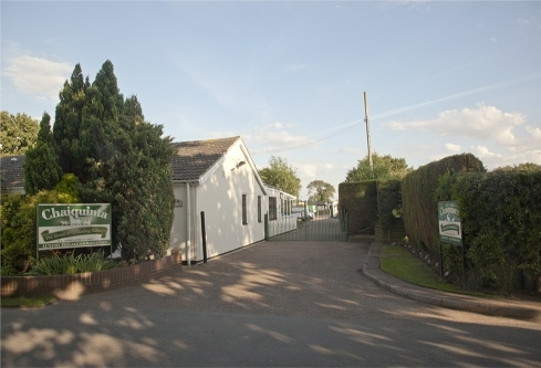 Entrance To Chaiquinta Pet Hotel and Grooming Salon, Doncaster 01302844867