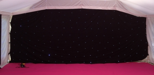 LED Star Cloth Peterborough