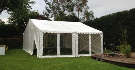 9m X 6m marquee Marquee Hire Peterborough