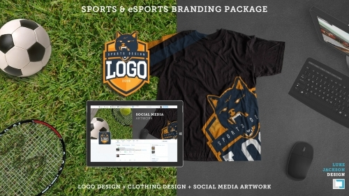 Sports Esports team Brand Package