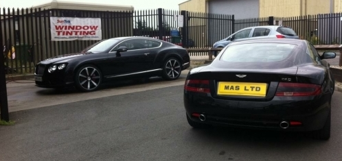 BENTLEY AND ASTON MARTIN - IN FOR THEIR WEEKLY WASH!