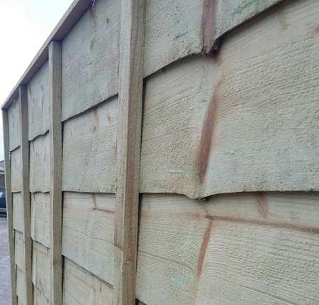 Fence panels from just £24.99!
