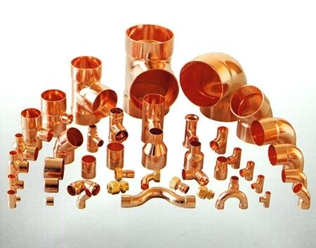 Plumbing Copper Pipe Fittings
