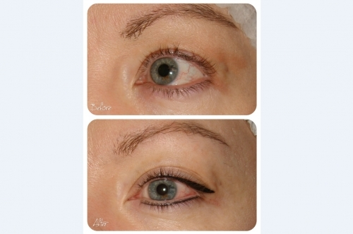 Latino Eyeliner Permanent Makeup by El Truchan @ Perfect Definition
