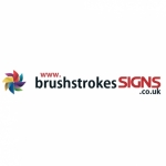 Brush Strokes Signs