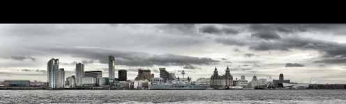 1200px Liverpool Skyline With Hms Ark Royal