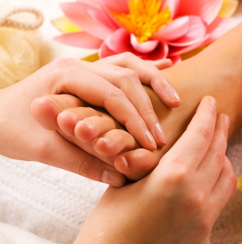 Unwind with reflexology