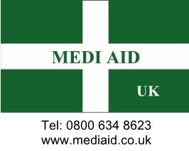 Medi Aid Logo With Tel And Web