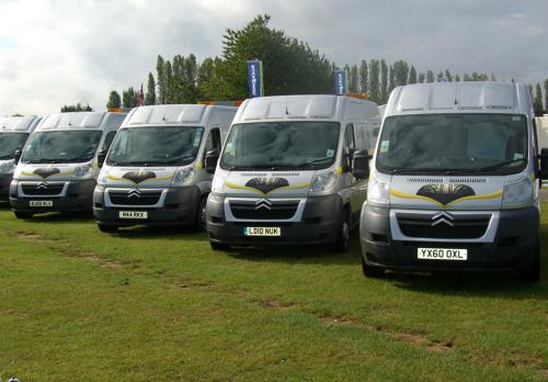 Some of the Hometyre fleet