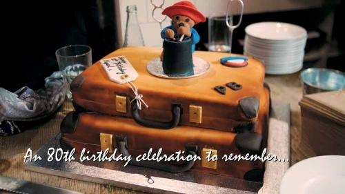 80th Birthday Cake Paddington Bear