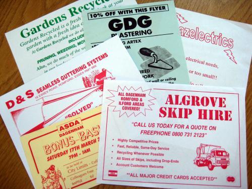 Budget Leaflets