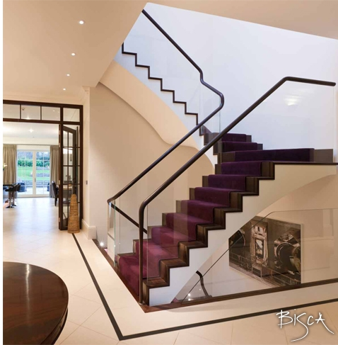 Bespoke Multi-flight staircase by Bisca