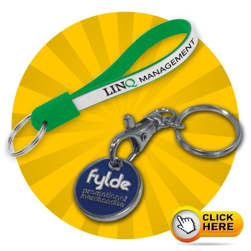 Promotional Keyrings, Key Tags, Custom Printed Promotional Keyrings With Your Logo. We have a wide variety of promotional keyrings, view on our website www.fyldepm.co.uk/keyrings. Low prices, fast quotes, excellent service.