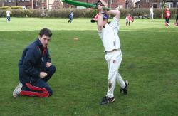 Junior. Cricket. Coaching