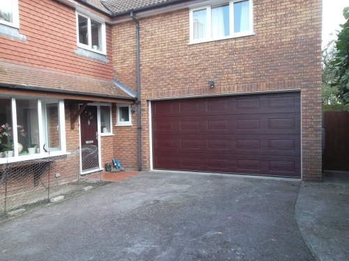 Glideroll Sectional Door Installed in Guildford