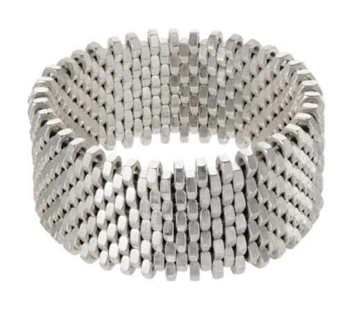Isla Silver Cuff by Alice Menter