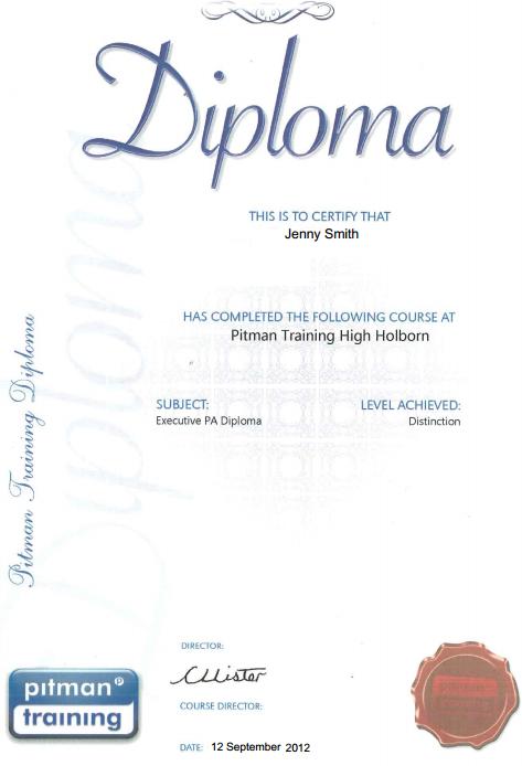Executive Plus Diploma