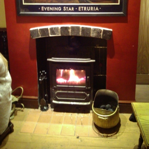 Solid fuel fire in the Holy Inadequate