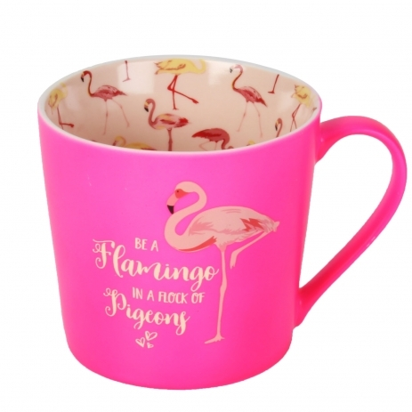 Hot Pink Flamingo Mug
