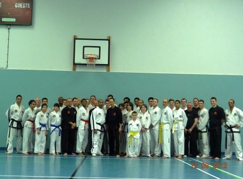 Another successful Ju-Jitsu seminar with Professor Leon Jay