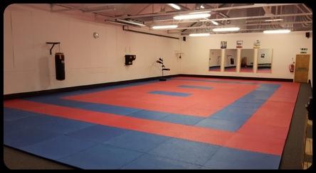 Bristol Martial Arts Academy 2nd Training Area