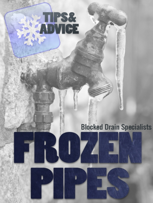 Frozen, Burst or Broken Pipes in London – Leak Detection