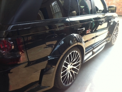"New 22"" alloys fitted to a Range Rover Sport!"