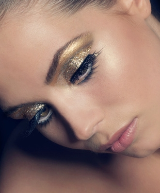 Beauty Glitter make-up
