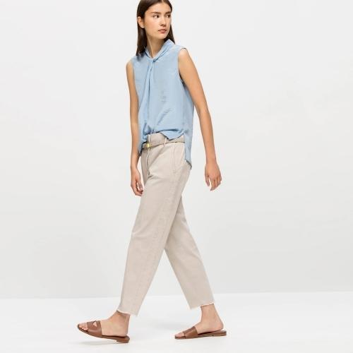 Luisa Cerano Tailored Trousers Beige