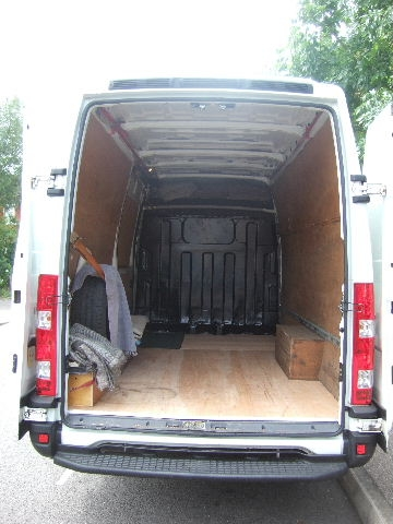 LEZ compliant 12 cubic metre van load area