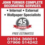 John Turner Complete Decorating Services