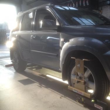 4 Wheel Laser Alignment at J C Motor Services Ltd  Tel: 01663 746099
