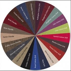 Fabric Colour Selection