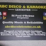 Abc Disco - Karaoke Leicester