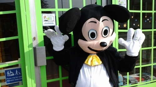 Mickey At Crafty Wizards World