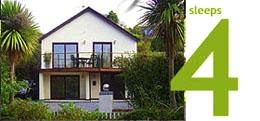 Sunnybrook: a luxury modern seaside holiday home sleeping four.