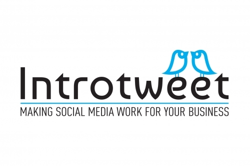 Introtweet Social Media Expert Logo Design