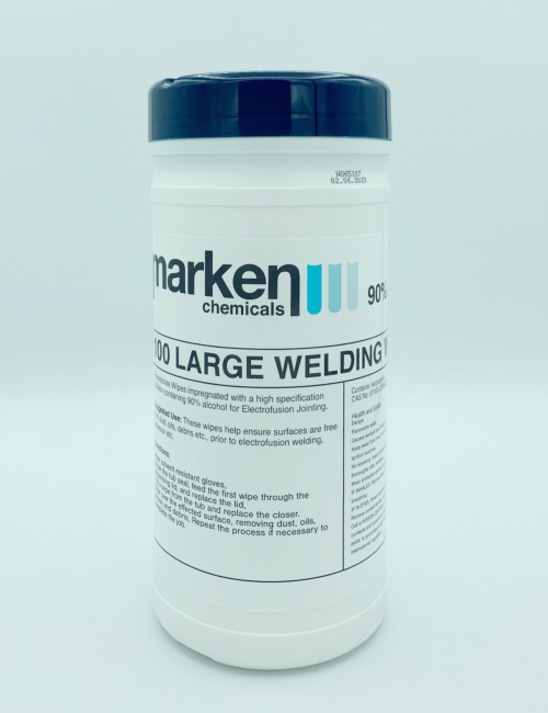 Electrofusion Welding Wipes 100