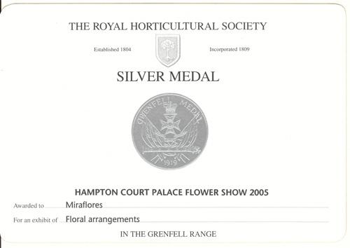 Hampton Silver Medal