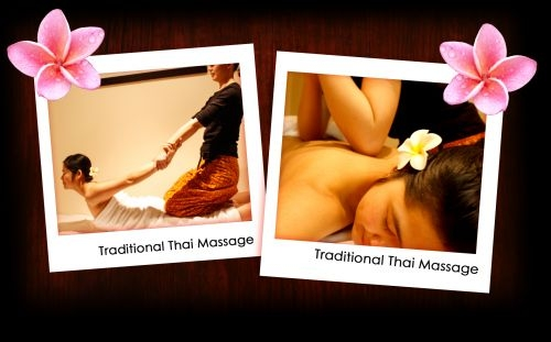 KobKun Thai back massage cobra stretching