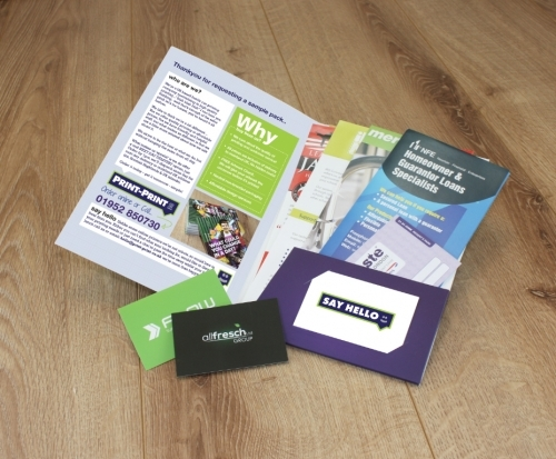 Our free sample pack is filled with great design and print ideas.