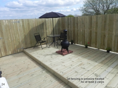 Fencing And Deck