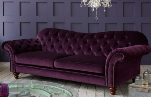 Crompton Fabric Chesterfield Sofa