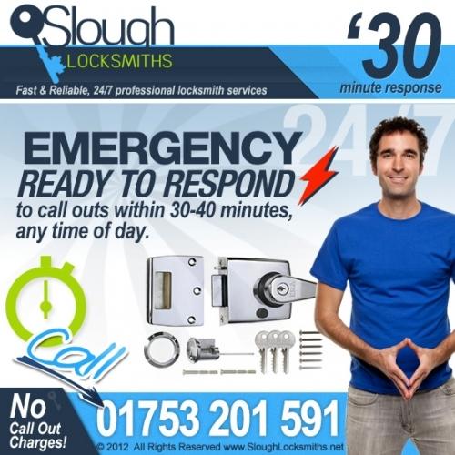 Emergency locksmiths in Slough