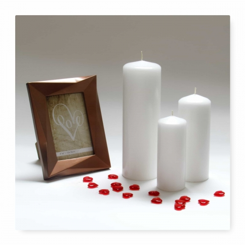 Pillar Candle White