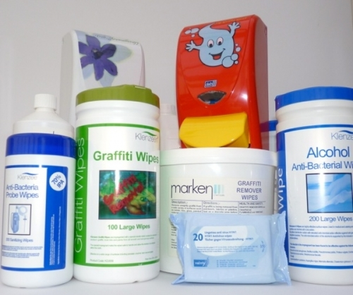Mixed Wipes - Wide range of impregnated wipes for healthcare and industrial applications