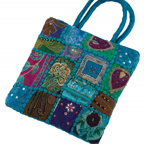 Beaded & Embroidered Bag
